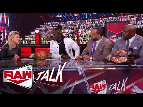 MVP absolutely loses it on R-Truth: Raw Talk, Jan. 11, 2021