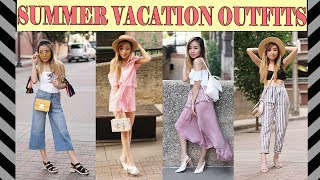 WHAT TO WEAR| FUN SUMMER VACATION OUTFIT IDEAS
