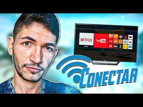 Como conectar a Smart TV na sua rede Wi-Fi