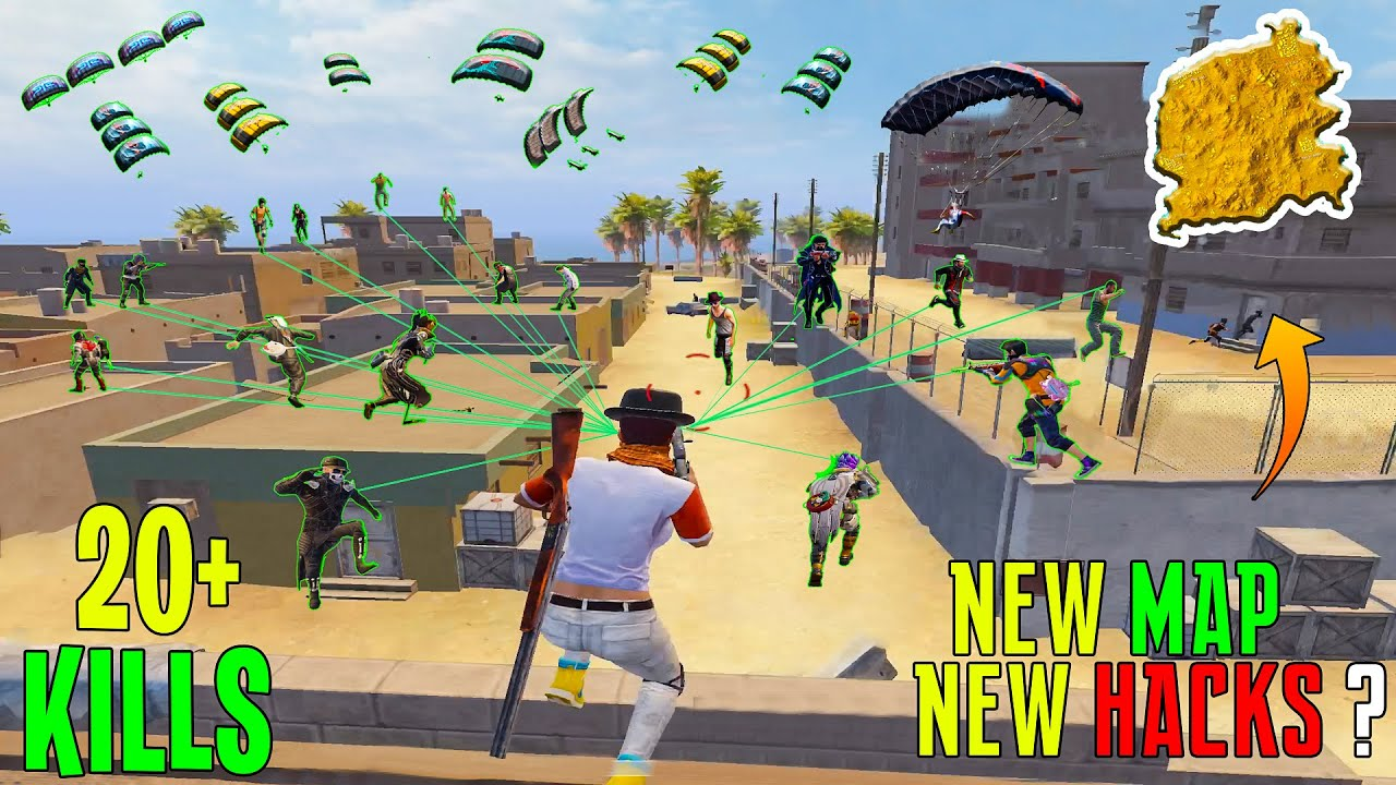🔥NEW MAP NEW TRICKS TO SURVIVE (1V4)  - SAMSUNG,A3,A5,A6,A7,J2,J5,J7,S5,S6,S7,59,A10,A20,A30,A50,A70