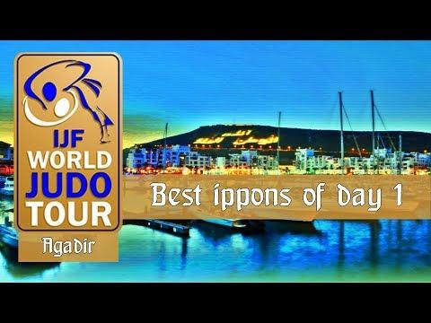 Best ippons in day 1 of Judo Grand Prix Agadir 2018