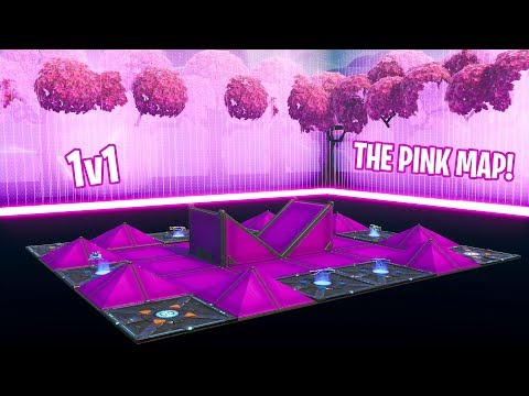 How to Make THE PINK 1v1 MAP/ARENA IN CREATIVE MODE (EASY)