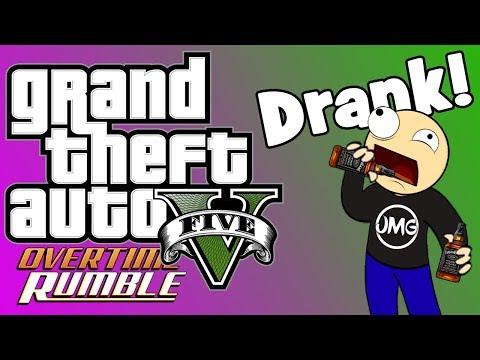 POINT BREAK!!!! - GTA V Overtime Rumble Funny Moments Pt. 2