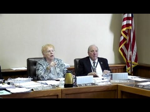 Raw video - NH state rep forbids filming of finance cmte. mtg.