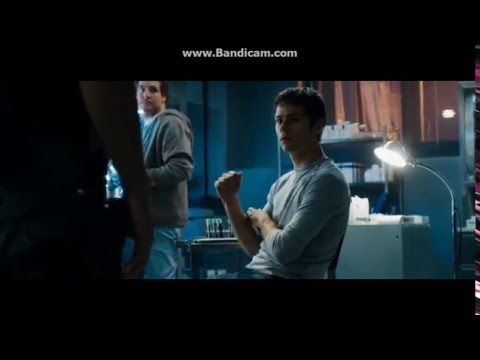 The Gladers New Lives, Shower Scene, and Cared for scene.