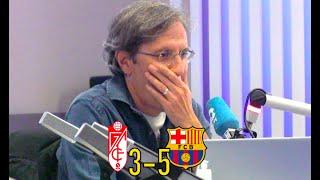 Granada 3-5 Barcelona | Así vivimos la ÉPICA REMONTADA azulgrana en Tiempo de Juego COPE