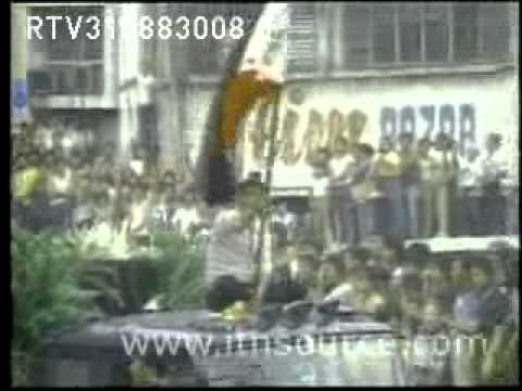 Documentary, Ninoy Aquino funeral march 1983, by Manuel Silva for Reuters, used non-commercially