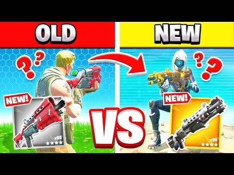 *NEW* TACTICAL SHOTGUN vs *OLD* GREY TACTICAL Shotgun in Fortnite
