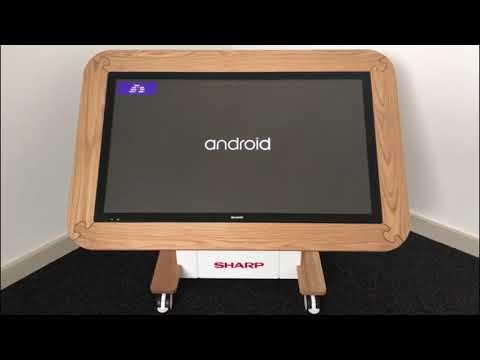 """Sharp 40"""" Interactive Nursery Table"""