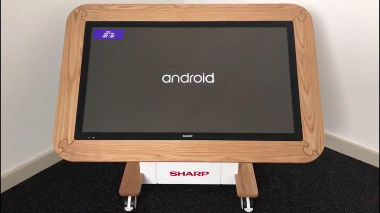 Sharp 40u201d Interactive Nursery Table