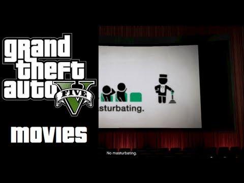 #NERD | GTA V ACTIVITIES | MOVIE THEATRE