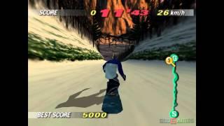 1080 Snowboarding - Gameplay Nintendo 64 HD 720P
