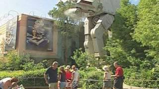Retro Disney: '90s Star Tours ride and queue at Disney-MGM Studios
