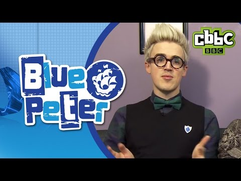 Celebrities choose their favourite books on Blue Peter - CBBC