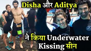 Disha Patani And Aditya Roy Kapur Shoot Underwater Kissing Scene In Malang Youtube