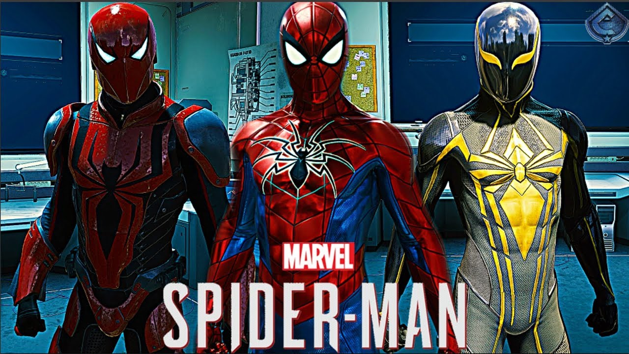 Kostum Baru Spider- man : Dibalik Spider Armor Pertama!