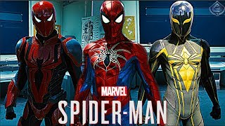 Spider-Man PS4 - Spider Armor Suits Free Roam Gameplay!