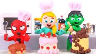 Kids Cooking Challenge ❤ Cartoons Für Kinder