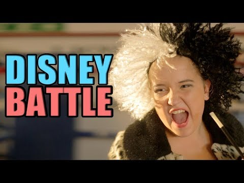 DISNEY BATTLE! Ft. songs from Lion King, Hercules, Aladdin and more!