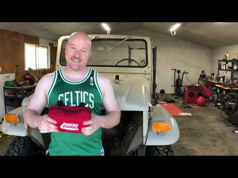 Project Wrong Way 12 - Attempted engine bay clean up (Simple Green, Zep, Etc) and failed FJ40