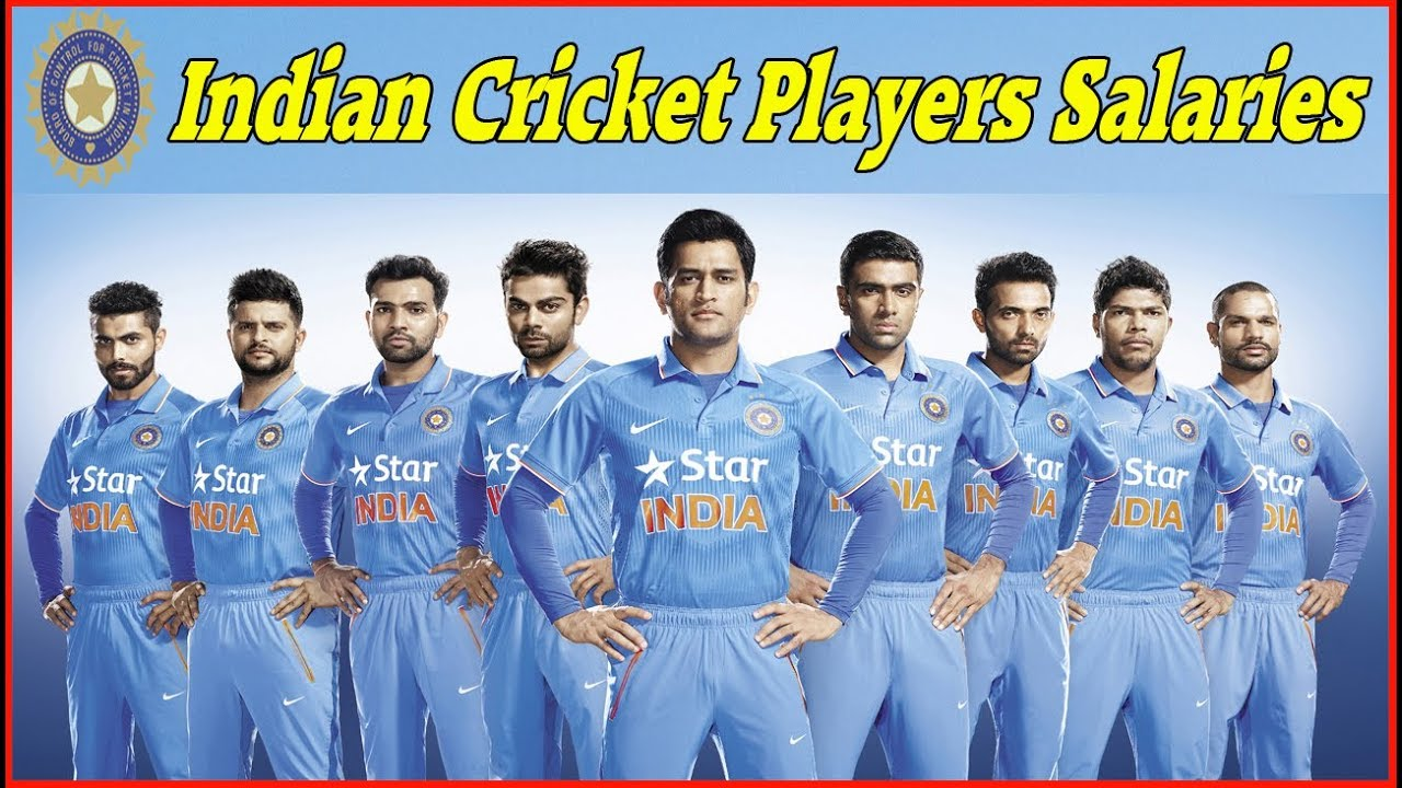 Indian Cricket Team Players: Indian Cricket Players Salaries List 2018