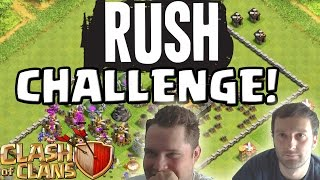 [fred] RUSH - CHALLENGE || CLASH OF CLANS || Let's Play CoC [Deutsch/German HD Android iOS PC]