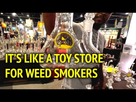 Inside Look at the Champs Trade Show Las Vegas (2019 Summer Show) Cannabis Smoke Shop Expo