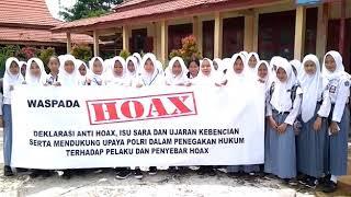 Deklarasi anti HOAX siswi SMA 1 penajam kab. Ppu