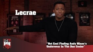 Lecrae - Not Cool Finding Andy Mineo's Underwear In The Bus Cooler (247HH Wild Tour Stories)