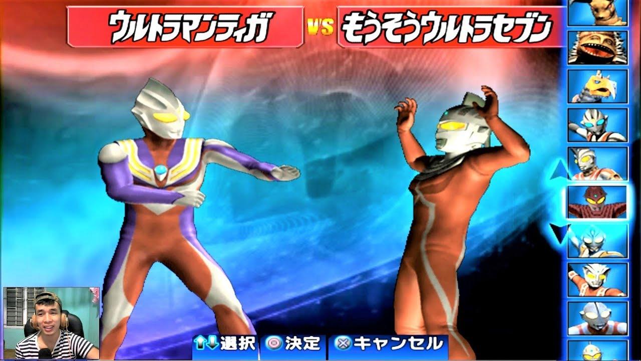 Sieu Nhan Game Play | Trận đấu Ultraman theo yêu cầu 24-04-2018 | Game Ultraman figting eluvation 3