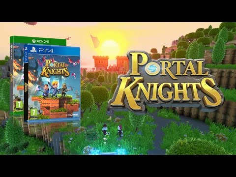 Portal Knights is coming to PlayStation 4 and Xbox One! [PEGI]