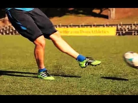 How to Shoot on the Move | Soccer Lessons