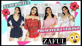 SÚPER HAUL PRIMAVERA VERANO 🔥🔥🔥 ZAFUL - SPRING SUMMER TRY ON  HAUL- MODA SEXY