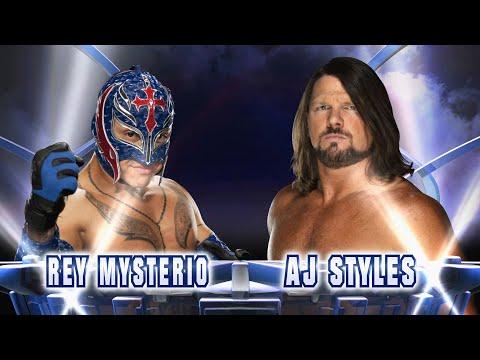 AJ Styles vs. Rey Mysterio: Fantasy Warfare