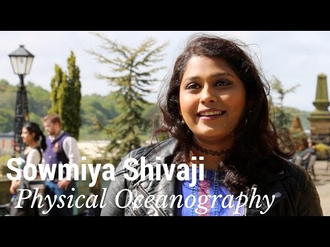 Student Profile: Sowmiya Shivaji - Physical Oceanography