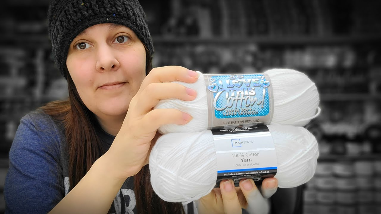 Walmart Mainstay Cotton VS Hobby Lobby Cotton   Are they the same yarn   Bag O Day Crochet