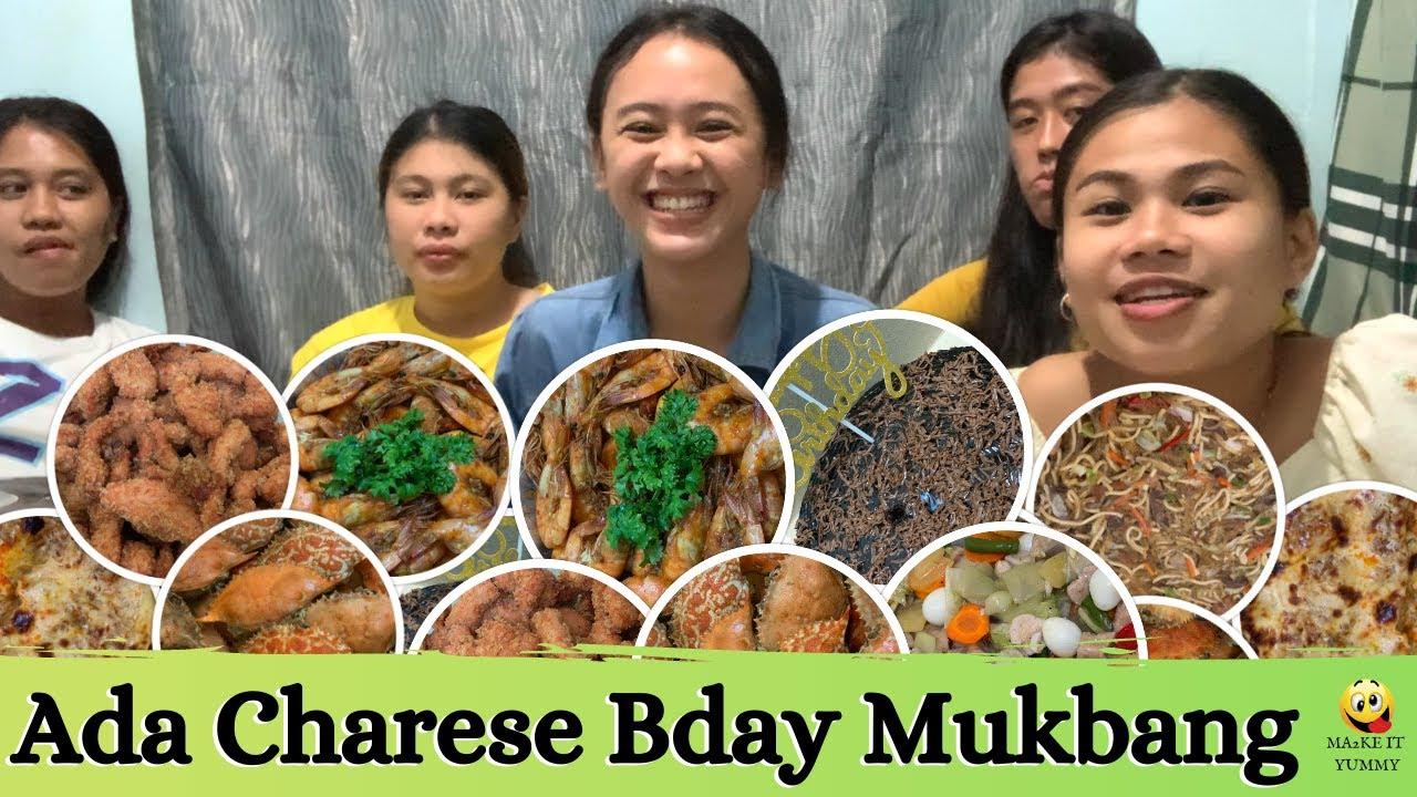 Ada Charese Birthday Mukbang | Senen's Catering Services | Ma2ke It Yummy
