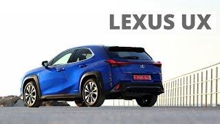 Lexus UX - pierwsze spotkanie