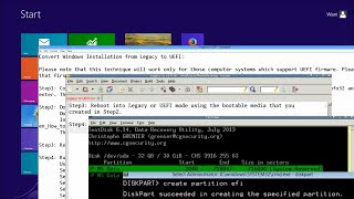 How to Convert Windows 7/8/8.1/10 Installation from Legacy to UEFI Without Data Loss!