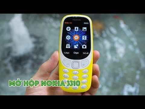 Mở Hộp Nokia 3310 (2017): Vàng Rực Rỡ | Huyền Thoại NOKIA Trở Lại |  Nokia 3310 Unboxing |  LKCN
