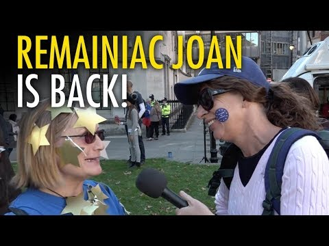 Katie Hopkins crashes London Remain rally (in disguise)