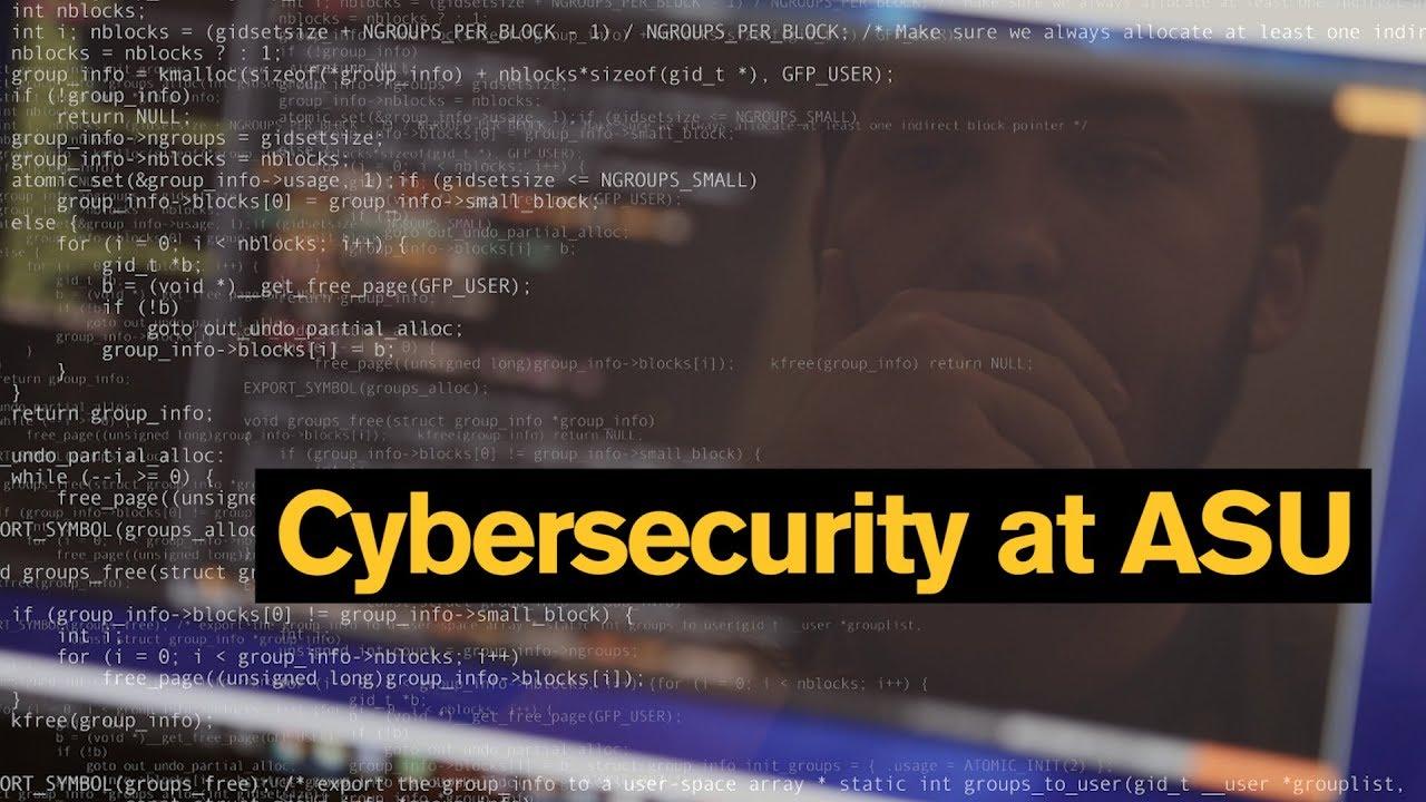 Cybersecurity | ASU Students | ASU