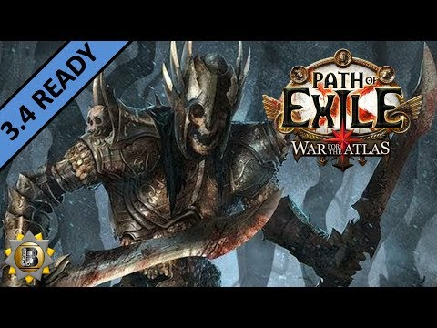 [3.3] Skeleton Warriors Build - Necromancer Witch - Path of Exile War For The Atlas - Incursion