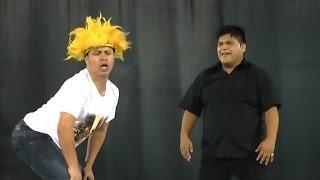 Aniversario de Pepe Rocky : Nabito y Frejolito JR - Comicos Ambulantes 2015