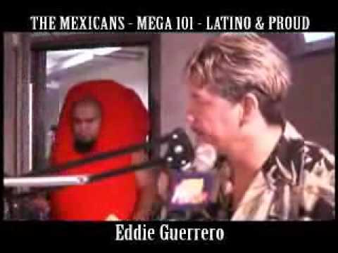 Eddie Guerrero con los Mexicans