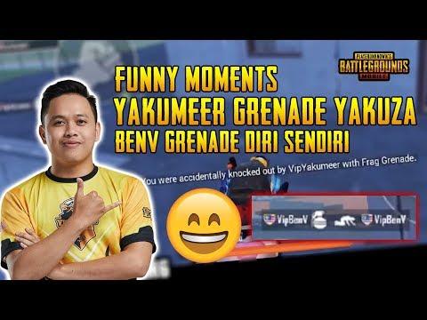 Funny Moments! Yakumeer Grenade Yakuza! Yakuza Gameplay   PUBG Mobile Malaysia