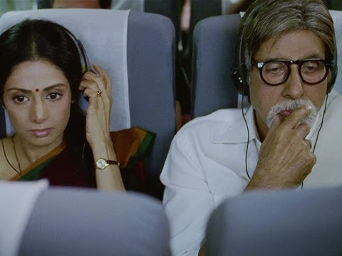 Amitabh Bachchan's courteous behaviour with Sridevi - English Vinglish | Sridevi Best Movie