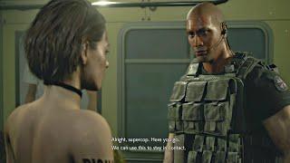 Resident Evil 3 Remake - The Rock Scene (RE3 Remake Demo 2020) Dwayne Johnson