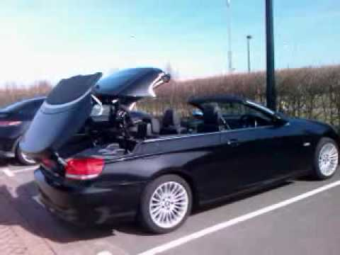 bmw e93 convertible with retractable hardtop remote. Black Bedroom Furniture Sets. Home Design Ideas