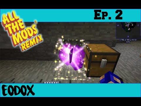 All The Mods 3 Remix: Episode 2: Beginning Thaumcraft!